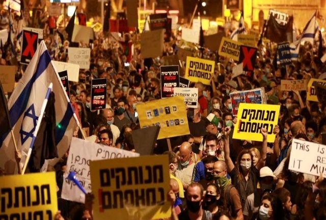 تظاهرات گسترده ضد نتانیاهو وارد هفته یازدهم شد