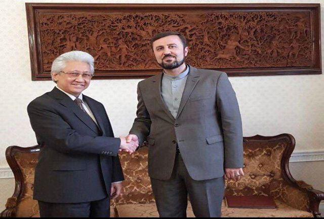 رایزنی نماینده دائم ایران در آژانس با رییس شورای حکام