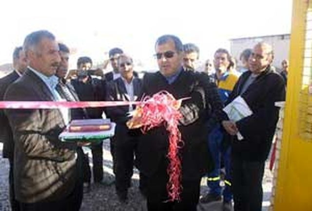 گازرسانی به 23واحد صنعتی شهرستان بویین زهرا آغاز شد