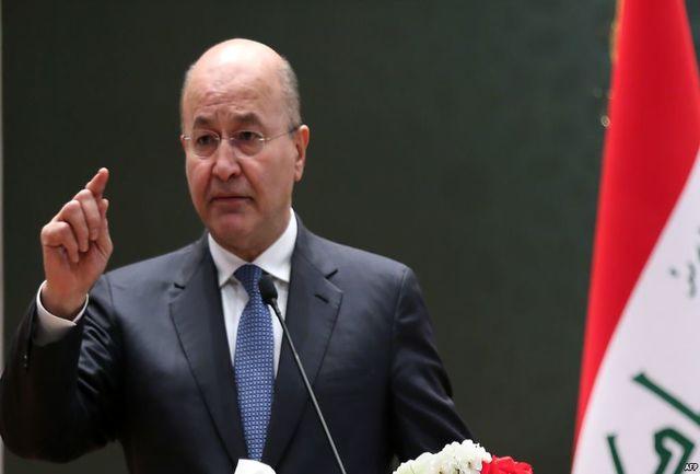 برهم صالح خواستار توقف حمله ترکیه به سوریه شد