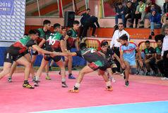 دومین دوره مسابقات بینالمللی کبدی آذربایجان شرقی؛