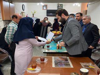 تقدیر دبیر شورای عالی امنیت ملی و مشاور رهبری از معلم آبادانی