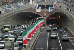 وضعیت ترافیک صبحگاهی در بزرگراههای پایتخت