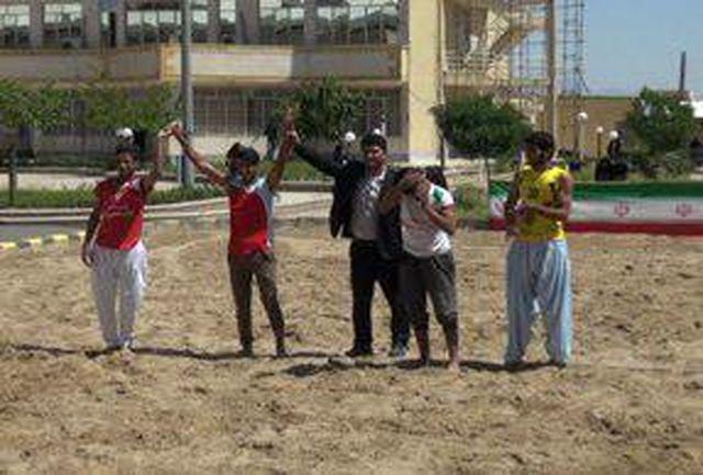 برگزاری جشنواره ورزشهای ساحلی در دانشگاه پیام نور زاهدان