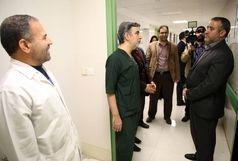 بازدید سرزده سرپرست استانداری قم از مرکز اورژانس و مرکز درمانی فرقانی قم