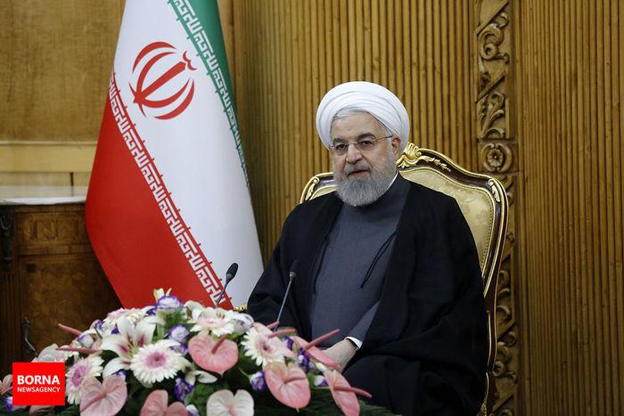 دکتر روحانی درگذشت پدر شهیدان مقدم را تسلیت گفت