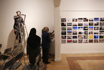 افتتاح شانزدهمین دوره نمایشگاه تصویر سال
