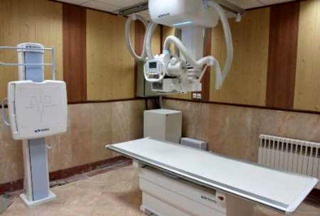 رادیولوژی دیجیتال و متحرک بیمارستان شهید بهشتی آبادان به بهره برداری رسید