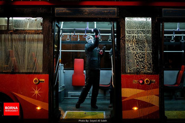 آمادگی اتوبوسرانی برای ارائه خدمات/ شهروندان از سفرهای غیر ضروری پرهیز کنند