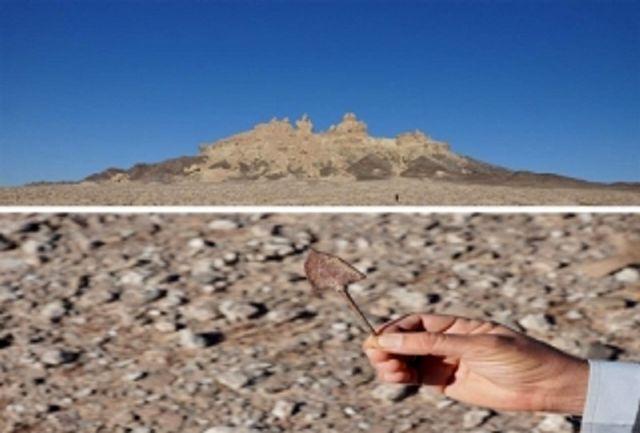 سر پیکان فلزی پیش از تاریخ در ابرکوه کشف شد