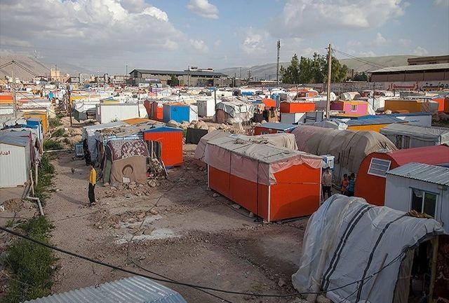 مستاجرانی که هنوز چادرنشین سرپل ذهاب اند/ همچنان  ۳۰۰۰ خانواده در کانکس و چادر زندگی میکنند