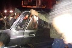یک کشته در واژگونی خودروی پراید
