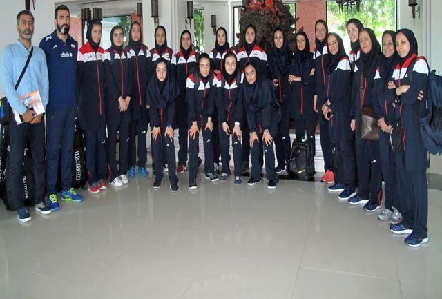 تیمملی والیبال نوجوانان دختر ایران به ناخونپاتوم رسید