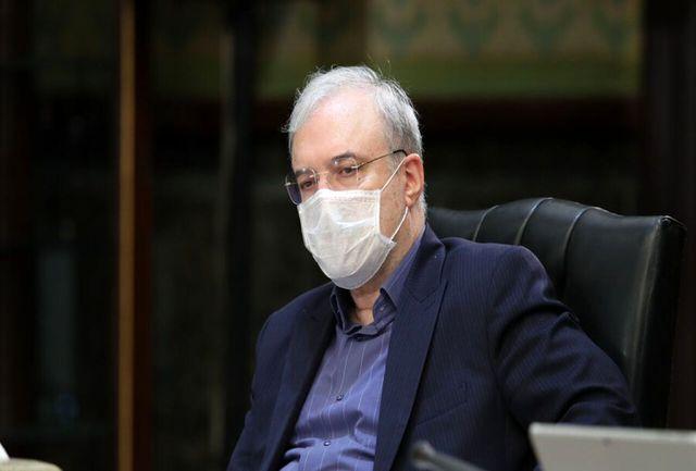گلایه وزیر بهداشت از تاخیر در پرداخت یک میلیارد دلار برای مبارزه با کرونا