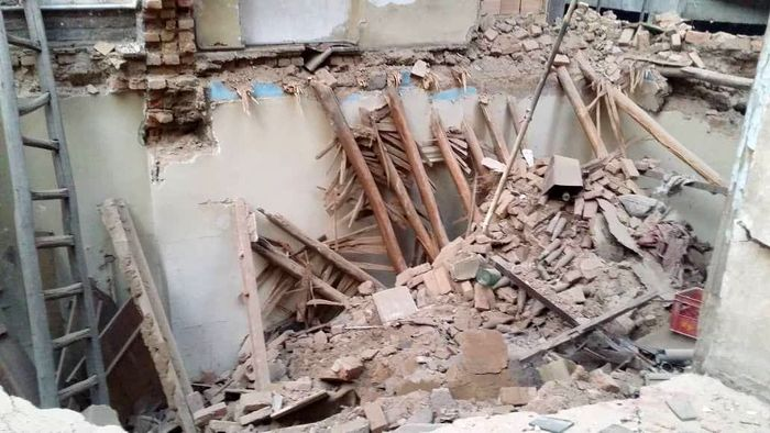 ریزش ساختمان در شیراز قربانی گرفت