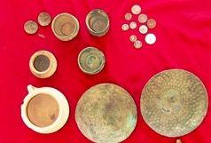 کشف اشیای تاریخی چند هزارساله در مرودشت