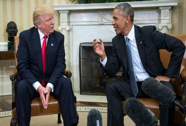پیشنهاد برجامی اوباما به ترامپ در اولین دیدار