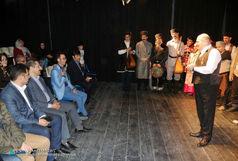 حضور شهردار تبریز در نمایش «قوچاق نبی»