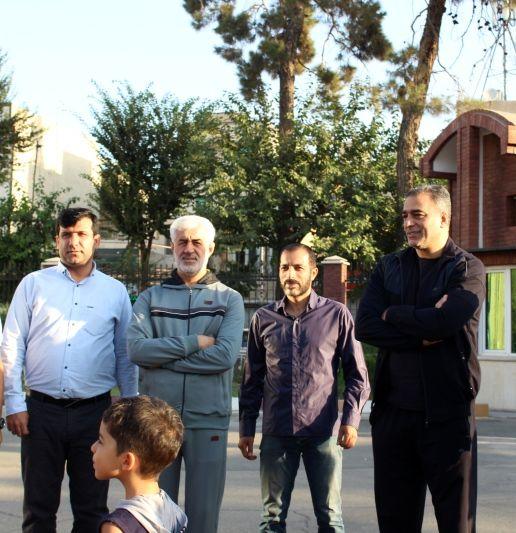 همایش پیاده روی خانوادگی با حضور مسئولین ورزش همگانی