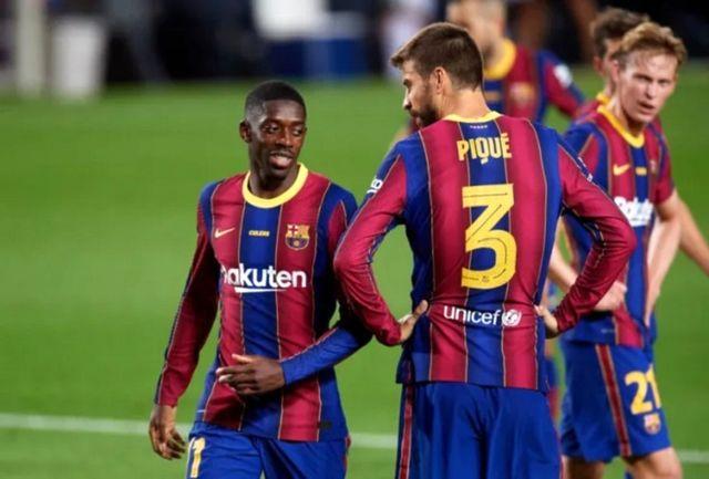 رقابت بارسلونا-دینامو کیف در قاب سه