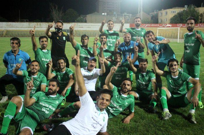 برد شیرین خیبر خرم آباد در دیار الوند  / پیروزی 1 برصفر خیبر در برابر شهرداری همدان