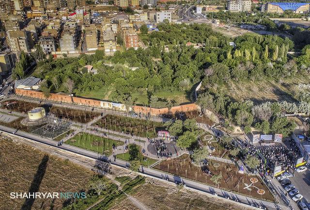 بهره برداری از پارک حیدربابا در تبریز