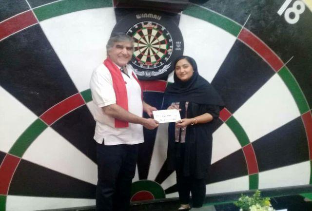 کسب مقام سوم مسابقات  ایران زمین توسط  بانوی دارتر الیگودرزی