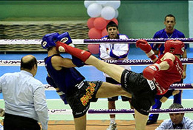 مسابقات استانی موی تای در ارومیه پایان یافت