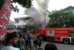 آتش سوزی در برج های در حال ساخت فرهنگیان