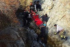 سقوط از کوه به علت پیدا کردن کندو عسل!