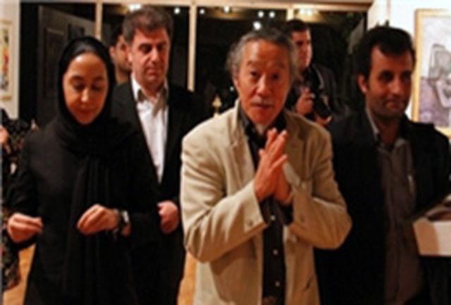 «کیتارو» از نمایشگاه هنر انساندوستی در نیاوران بازدید کرد