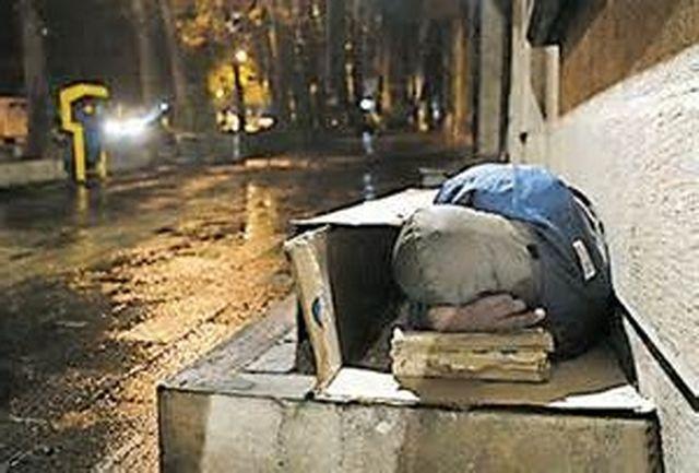 مرگ 2 فرد بی خانمان در نزدیکی یک مددسرا