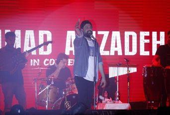 کنسرت محمد علیزاده در تالار البرز لاهیجان