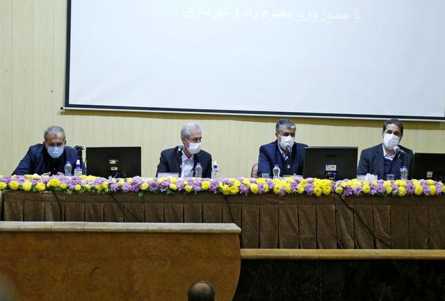 افتتاح پروژههای راهسازی و حملونقل جادهای استان آذربایجان شرقی
