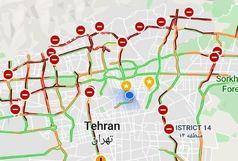 تهران قفل شد+ عکس