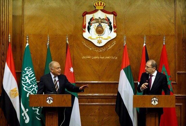 تاکید مقام اردنی اردن و دبیرکل اتحادیه عرب بر ضرورت پایان جنگ در سوریه