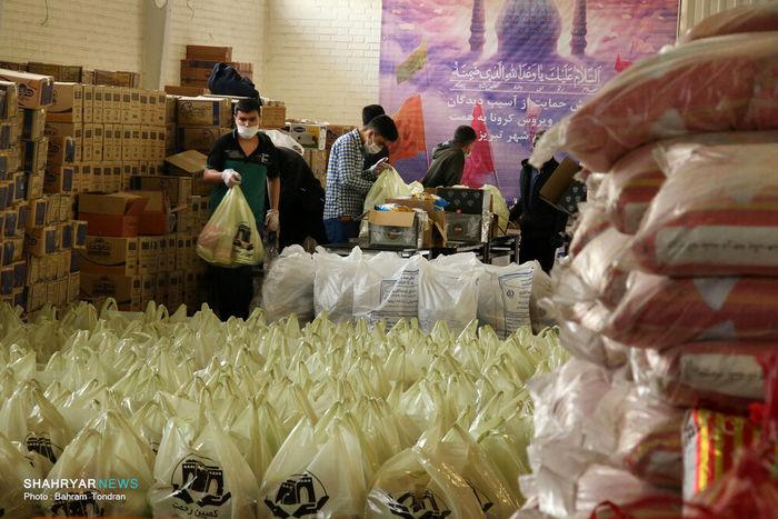 آغاز بستهبندی ارزاق پویش رحمت/ هر روز یک هزار سبد غذایی توزیع میشود