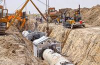 آغاز عملیات اجرایی خط انتقال طرح آبشیرینکن ۱۷ هزار مترمکعبی بوشهر
