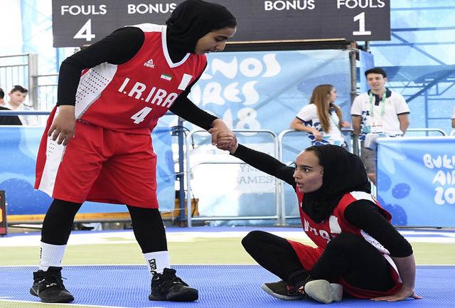دختران ایرانی حریف ژرمنها نشدند