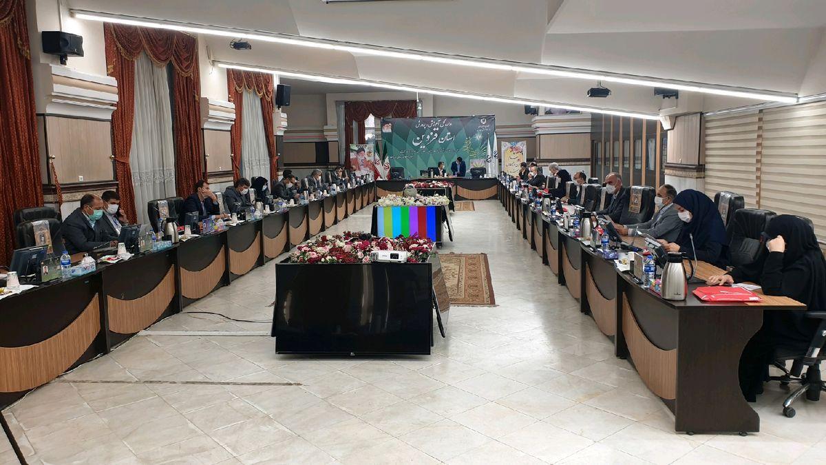اجلاس 2 روزه روسای آموزش و پرورش سراسر کشور در قزوین شروع به کار کرد