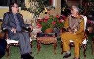 هیأت ایرانی با رئیس شورای عالی مصالحه افغانستان دیدار کرد