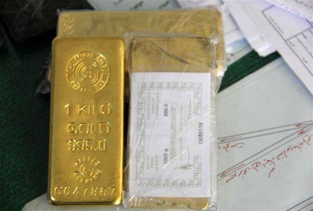 کشف 5 قطعه شمش طلای قاچاق