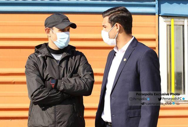 جلسه ویژه یحیی با معاون اجرایی باشگاه