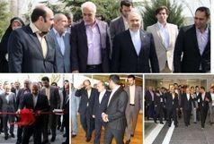 استخر آفتاب مجموعه ورزشی انقلاب افتتاح شد