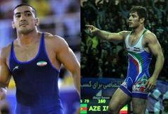 دو کرمانشاهی در ترکیب تیم ملی کشتی آزاد ایران