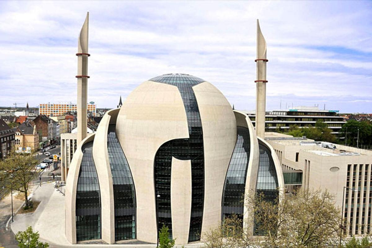 اذان از مسجد شهر کلن پخش میشود