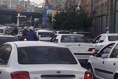 ترافیک دراکثر معابر پایتخت