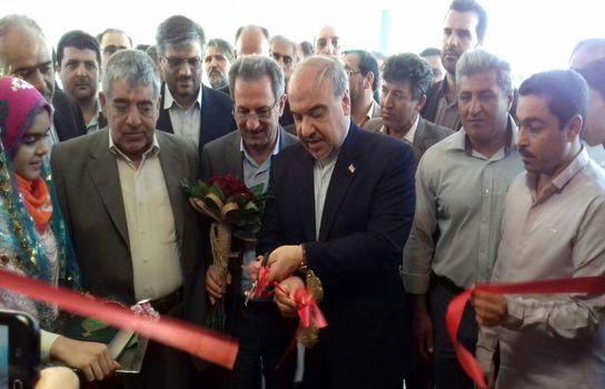 افتتاح سالن ورزشی شهدای خاتون آباد