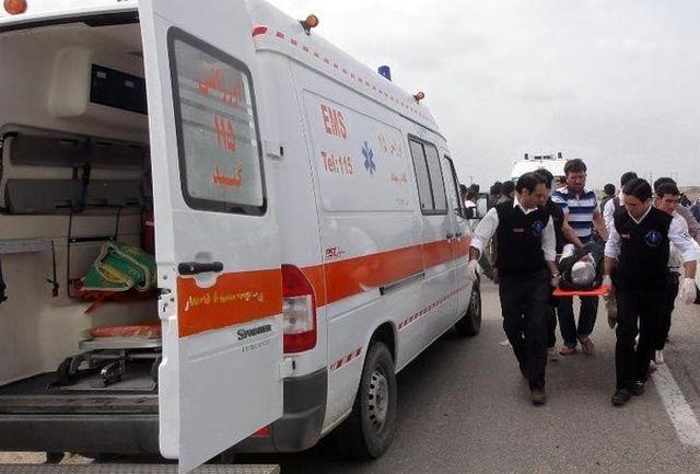 ۷ مصدوم تصادفی در مرز مهران تحویل فوریتهای پزشکی شدند
