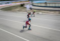 قهرمانی یک الیگودرزی در مسابقات اسکیت سرعت نونهالان غرب کشور